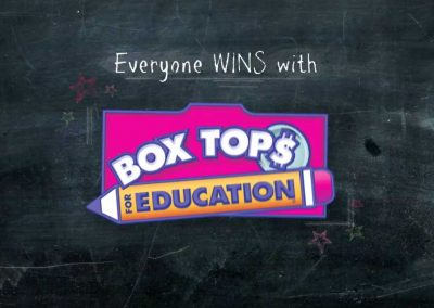 Box Tops For Education Sizzle Reel