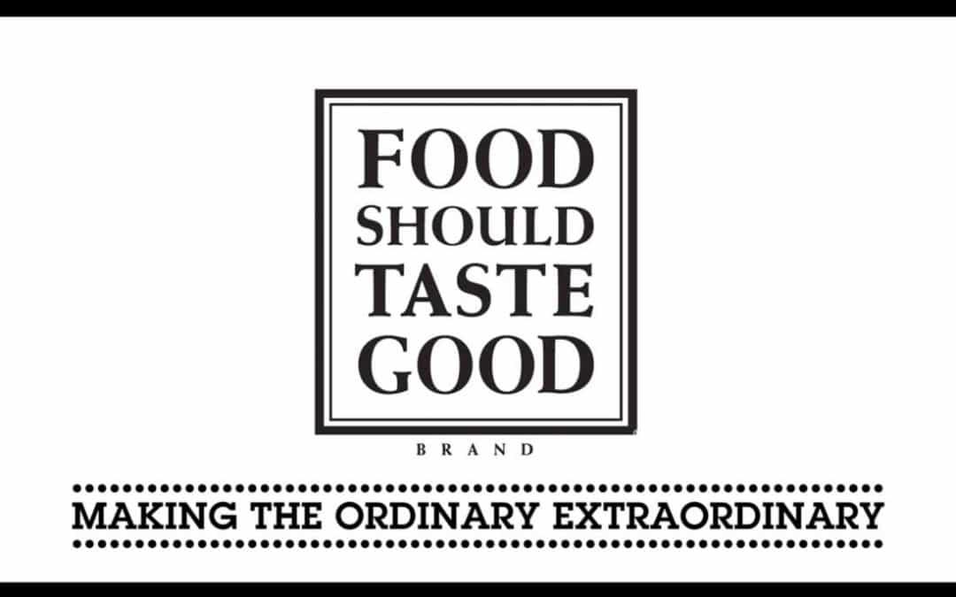 Food Should Taste Good Sizzle Reel