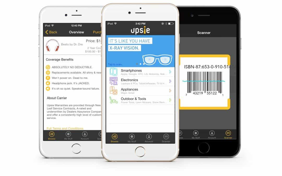 Upsie App Design